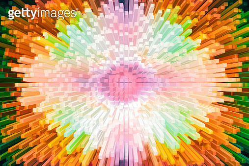 Abstract colorful particle background - gettyimageskorea