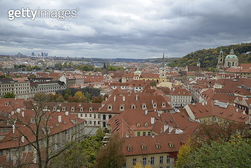 skyline of prague  - Czech Republik, Europe - gettyimageskorea