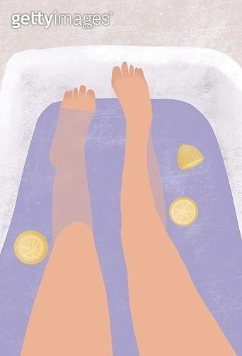 plus size, body positive, bath time, stylish, curvy, women, girl, healthy life, confidence - gettyimageskorea