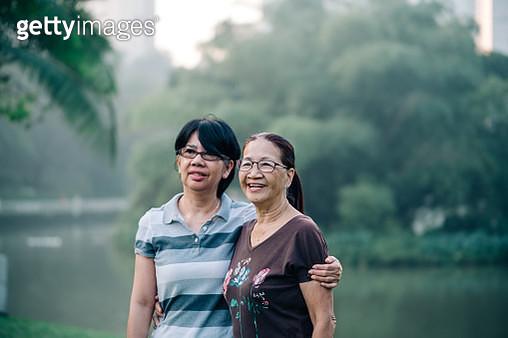 Portrait of Beautiful Two Active Senior Women - gettyimageskorea