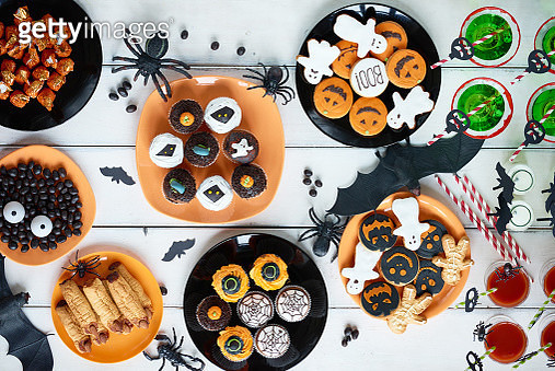 Halloween candy bar - gettyimageskorea