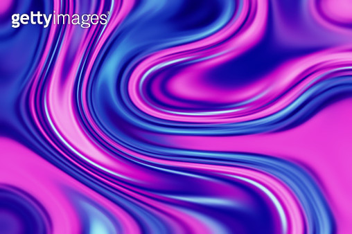 retro 80's neon Background with fluid vibrant shapes - gettyimageskorea