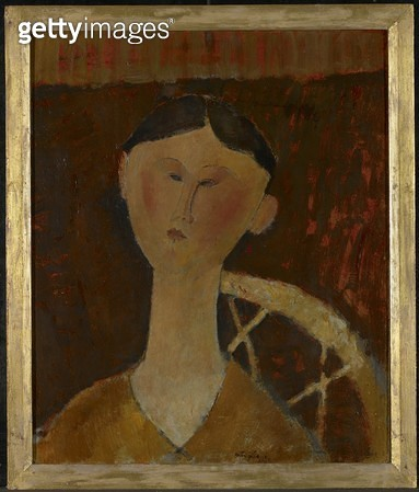 <b>Title</b> : Portrait of Mrs Hastings, 1915 (oil on cardboard)<br><b>Medium</b> : oil on cardboard<br><b>Location</b> : Art Gallery of Ontario, Toronto, Canada<br> - gettyimageskorea