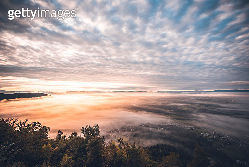 Colourful sky - gettyimageskorea
