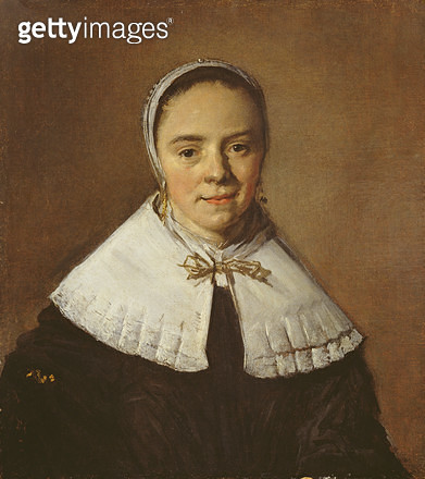 <b>Title</b> : Portrait of a Young Woman (oil on canvas) (for detail see 26047)<br><b>Medium</b> : oil on canvas<br><b>Location</b> : Ferens Art Gallery, Hull City Museums and Art Galleries<br> - gettyimageskorea