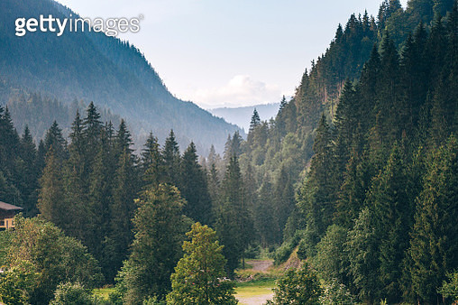 Raining in Austrian Alps - gettyimageskorea