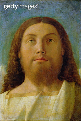 <b>Title</b> : The Redeemer (oil on panel)<br><b>Medium</b> : oil on panel<br><b>Location</b> : Galleria dell' Accademia, Venice, Italy<br> - gettyimageskorea