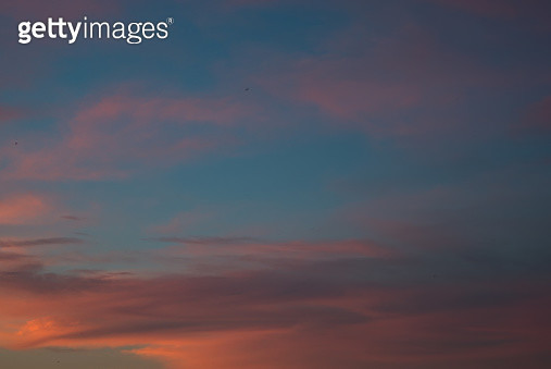 Colorful sky in a late afternoon - gettyimageskorea