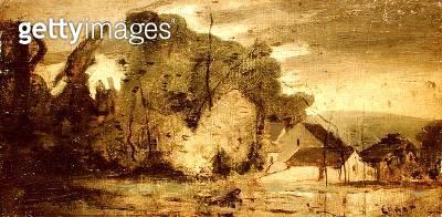 Landscape/ 1796 (oil on canvas) - gettyimageskorea