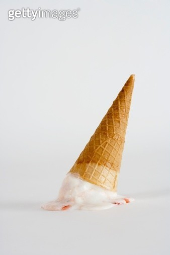 Upside down ice cream cone - gettyimageskorea