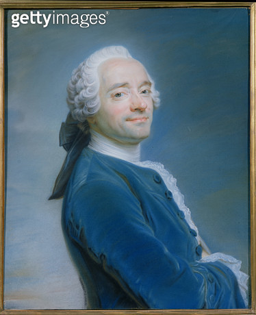 <b>Title</b> : Self Portrait (pastel)<br><b>Medium</b> : pastel<br><b>Location</b> : Musee de Picardie, Amiens, France<br> - gettyimageskorea