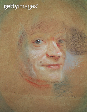 <b>Title</b> : Self Portrait (pastel on paper)<br><b>Medium</b> : pastel on paper<br><b>Location</b> : Musee des Beaux-Arts, Dijon, France<br> - gettyimageskorea