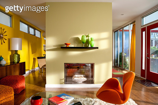 Brightly Colorful modern interior - gettyimageskorea