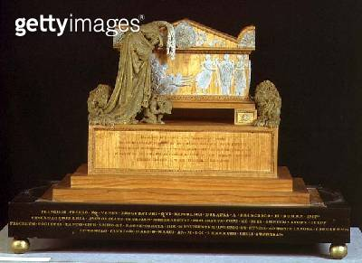 <b>Title</b> : Model for the Monument of Francesco Pisano (wood and wax)<br><b>Medium</b> : wood and wax<br><b>Location</b> : Museo Correr, Venice, Italy<br> - gettyimageskorea