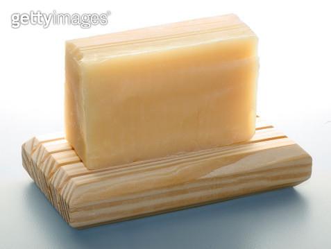 Soap on wood - gettyimageskorea