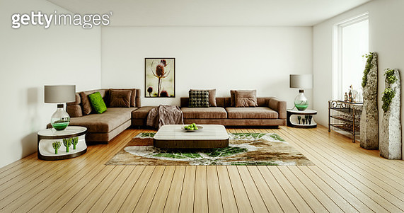 Fashionable Living Room - gettyimageskorea