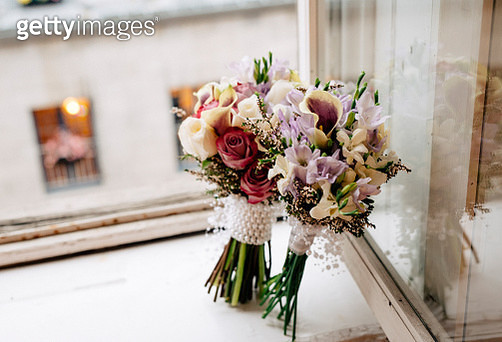 Bouquet in the city - gettyimageskorea