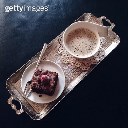 Close-Up Of Breakfast On Table - gettyimageskorea