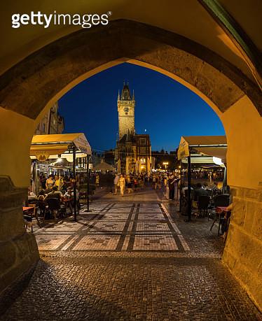 Prague at Dusk - gettyimageskorea