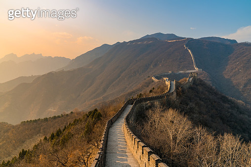 Great Wall of China, China - gettyimageskorea