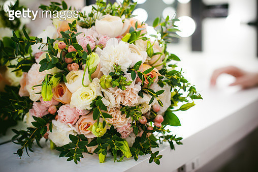 Close-Up Of Rose Bouquet - gettyimageskorea