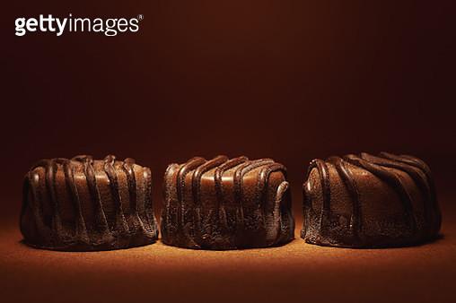 Three Chocolate Candies - gettyimageskorea
