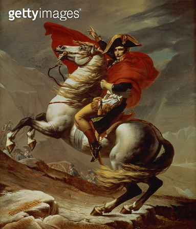 Napoleon Crossing the Alps (1800-01) - gettyimageskorea