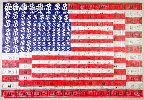 <b>Title</b> : To Jasper Johns, 2003 (encaustic on canvas)<br><b>Medium</b> : encaustic on canvas<br><b>Location</b> : Private Collection<br> - gettyimageskorea
