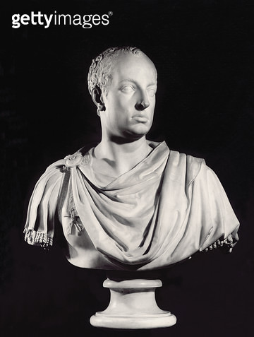<b>Title</b> : Portrait of the Holy Roman Emperor Francis I (1708-65) (marble) (see also 82132)<br><b>Medium</b> : marble<br><b>Location</b> : Kunsthistorisches Museum, Vienna, Austria<br> - gettyimageskorea