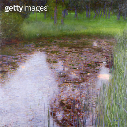 <b>Title</b> : The Swamp, 1900 (oil on canvas)<br><b>Medium</b> : oil on canvas<br><b>Location</b> : Private Collection<br> - gettyimageskorea