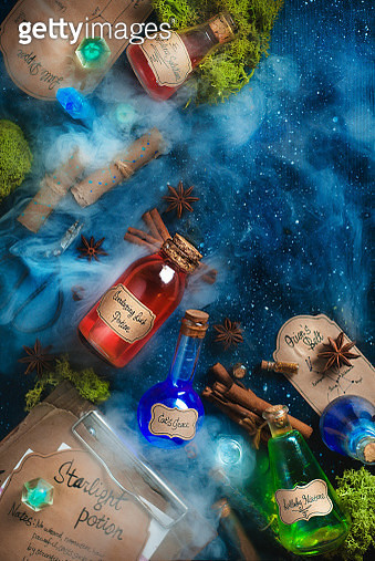 Make a wish. Potion collection. - gettyimageskorea