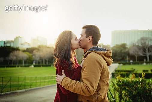 One kiss means so much - gettyimageskorea