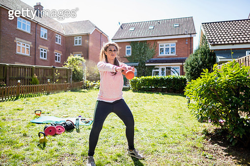 Determined to Make Gains - gettyimageskorea