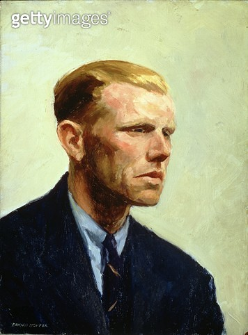 <b>Title</b> : Portrait of a Man (oil on canvas)<br><b>Medium</b> : <br><b>Location</b> : Private Collection<br> - gettyimageskorea