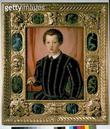 <b>Title</b> : Portrait of Don Giovanni de' Medici (1475-1521) (oil on canvas)<br><b>Medium</b> : oil on canvas<br><b>Location</b> : Ashmolean Museum, University of Oxford, UK<br> - gettyimageskorea