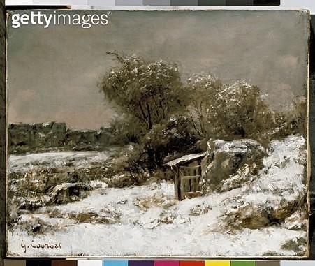 <b>Title</b> : Winter Scene (oil on canvas)<br><b>Medium</b> : oil on canvas<br><b>Location</b> : Ashmolean Museum, University of Oxford, UK<br> - gettyimageskorea