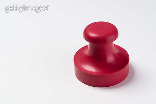 Red Rubber Stamp on White Paper - gettyimageskorea