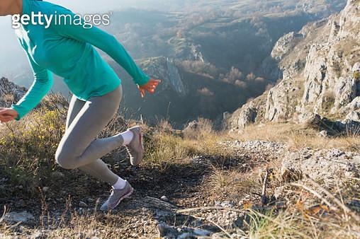 Run Across The Nature - gettyimageskorea