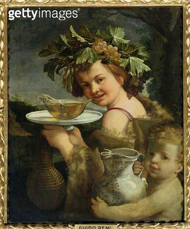 <b>Title</b> : Bacchus (oil on canvas)<br><b>Medium</b> : <br><b>Location</b> : Palazzo Pitti, Florence, Italy<br> - gettyimageskorea
