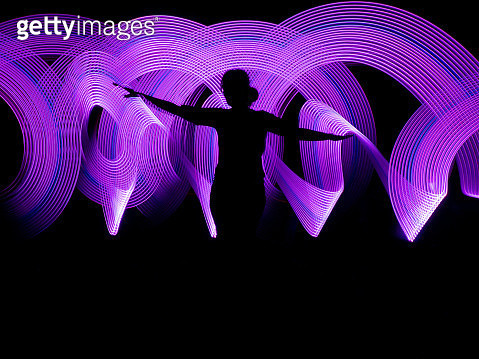 Light painting - gettyimageskorea