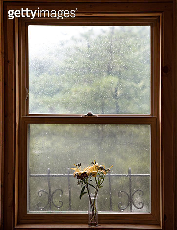 Window on Rainy Day - gettyimageskorea