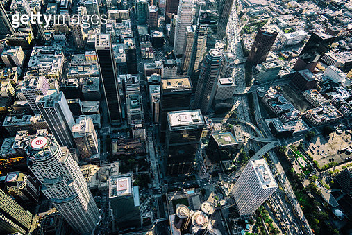 Los Angeles From Above - gettyimageskorea