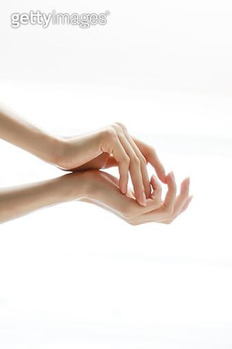 Beautiful woman hands - gettyimageskorea