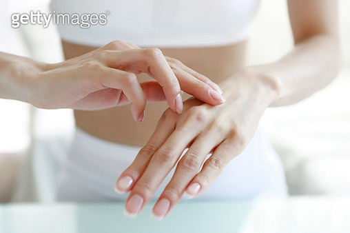 Close up of woman beauty hands - gettyimageskorea