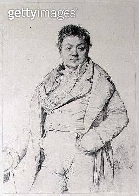 Portrait of a Man/ 1816 (print) - gettyimageskorea