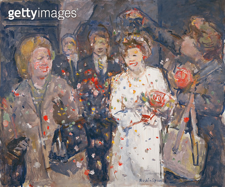 <b>Title</b> : Confetti (oil on canvas)<br><b>Medium</b> : oil on canvas<br><b>Location</b> : Private Collection<br> - gettyimageskorea