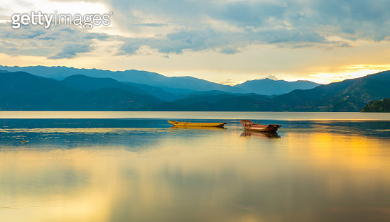 Lugu lake scenery in sichuan province - gettyimageskorea
