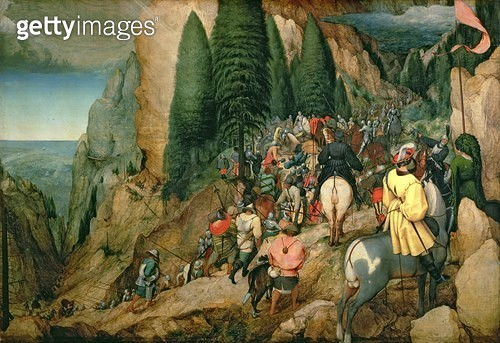 <b>Title</b> : Conversion of St. Paul, 1567<br><b>Medium</b> : oil on canvas<br><b>Location</b> : Kunsthistorisches Museum, Vienna, Austria<br> - gettyimageskorea