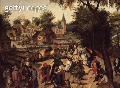 <b>Title</b> : The Return from the Kermesse<br><b>Medium</b> : <br><b>Location</b> : <br> - gettyimageskorea