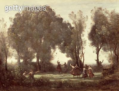 <b>Title</b> : La Danse des Nymphes<br><b>Medium</b> : <br><b>Location</b> : Private Collection<br> - gettyimageskorea